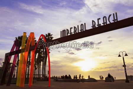 pier entrance imperial beach san diego